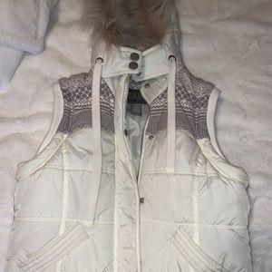 BKE white vest